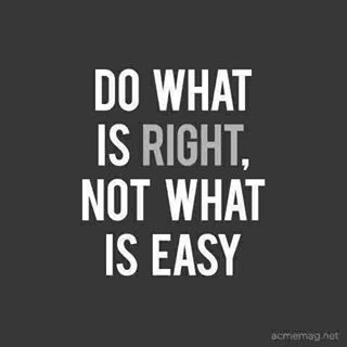 Quote Do Whats Right Not Marsha Egan